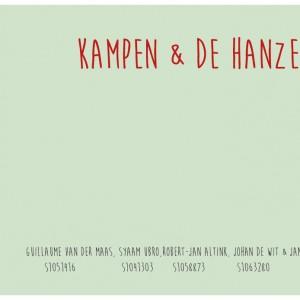 Toegepast Onderzoek – Hanzelijn Kampen